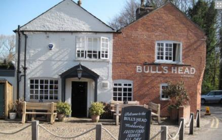 The Bulls Head ( Mobberley) -Exterior1