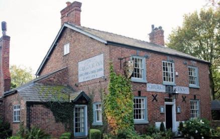 The Church Inn (Mobberley) -Exterior1