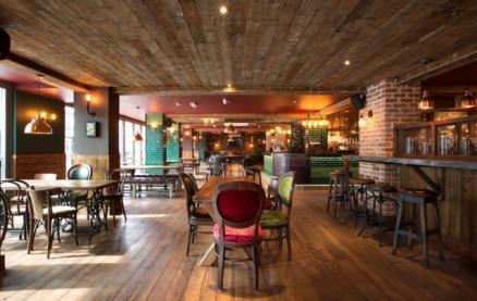 King Street Brew House -Interior 1