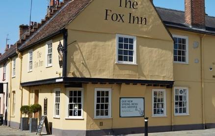 The Fox Inn (Bury St Edmunds) -Exterior1