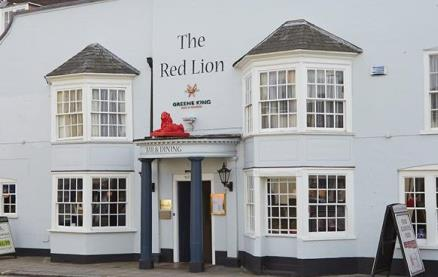 The Red Lion (Fareham) -Exterior1