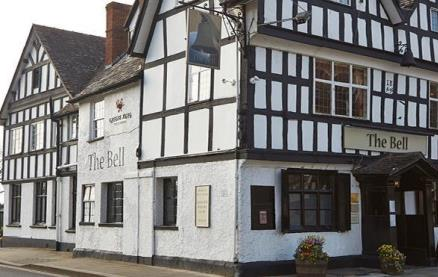 The Bell (Tewkesbury) -Exterior1