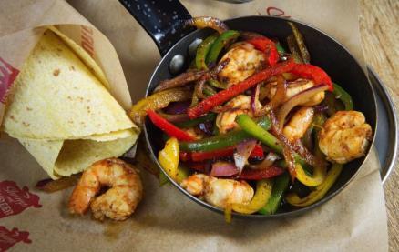 Shrimp and Burger -Food 1