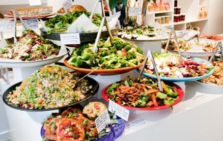 OTTOLENGHI Belgravia -Food 1