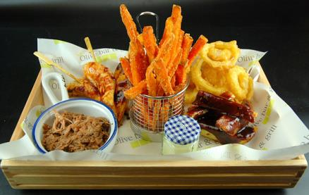 The Olive Bar & Grill -Food 2