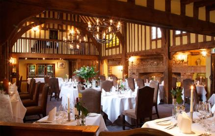 Gallery Restaurant @ The Swan at Lavenham -Interior 1