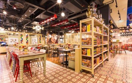 Comptoir Libanais (Manchester) -Interior 1