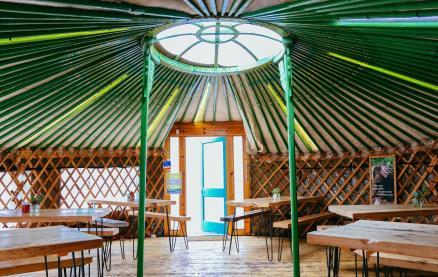 Yurt Lush -Interior 1