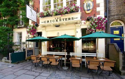 The Cricketers (Richmond) -Exterior