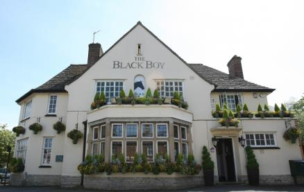 The Black Boy (Headington) -Exterior