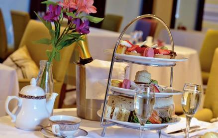 The Terrace Restaurant at Highgate House -Tea