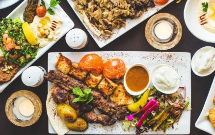 Mazzat Lebanese Restaurant -Food 1