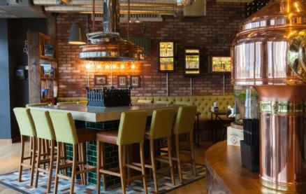 Brewhouse & Kitchen (Gloucester Quays) -Interior 1