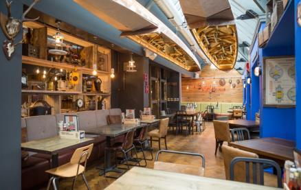Brewhouse & Kitchen (Nottingham) -Interior 2